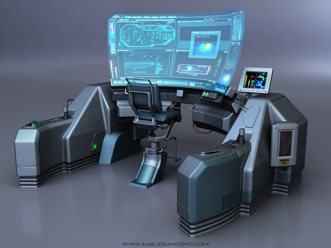 Video Game Medical Research Rooms